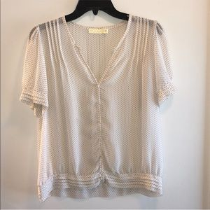 UO Pins & Needles Sheer Blouse. Size Large